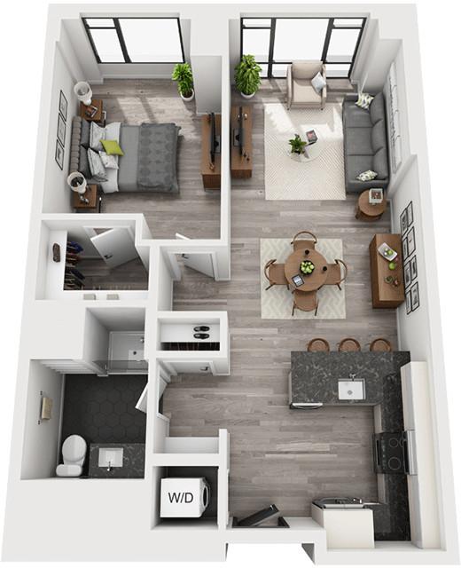 1 Bedroom, Shawmut Rental in Boston, MA for $3,980 - Photo 1