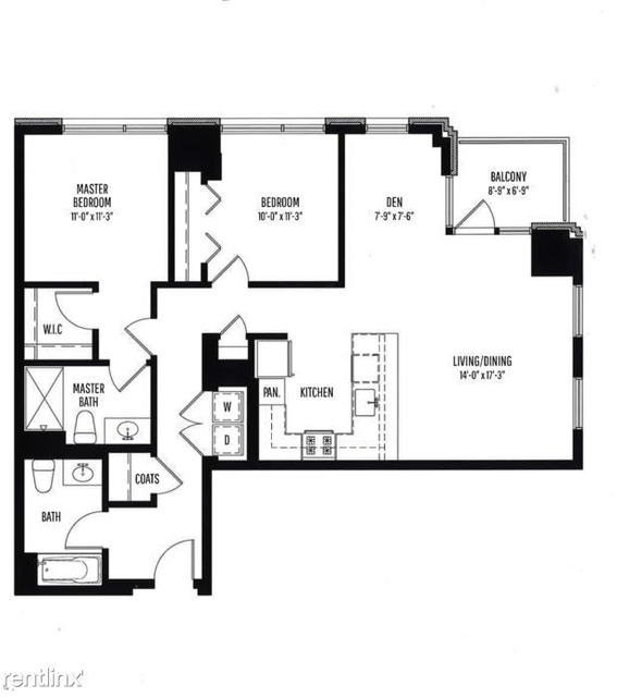 2 Bedrooms, Old Town Rental in Chicago, IL for $5,402 - Photo 1