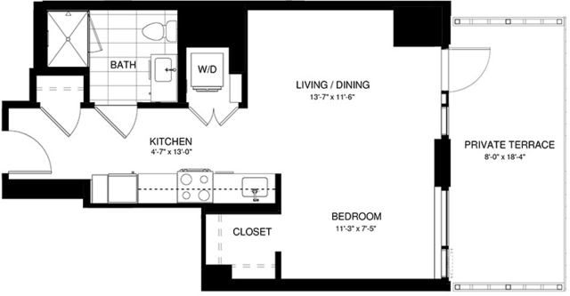 Studio, Shawmut Rental in Boston, MA for $3,439 - Photo 2