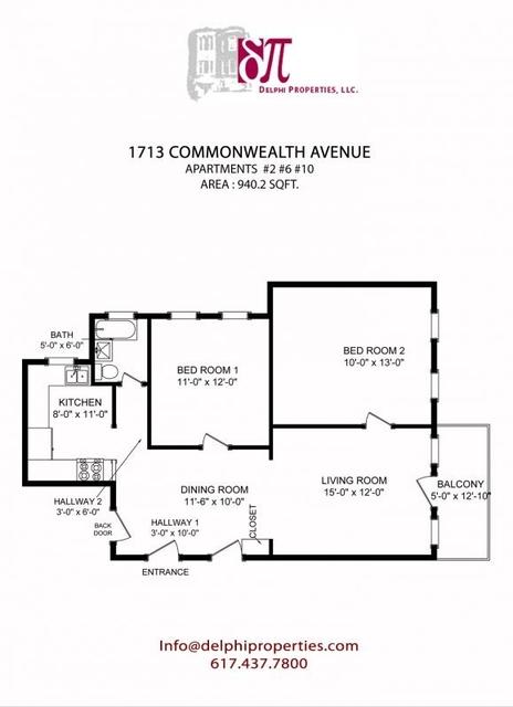 2 Bedrooms, St. Elizabeth's Rental in Boston, MA for $2,150 - Photo 1
