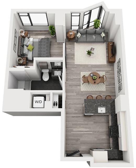 1 Bedroom, Shawmut Rental in Boston, MA for $4,138 - Photo 1