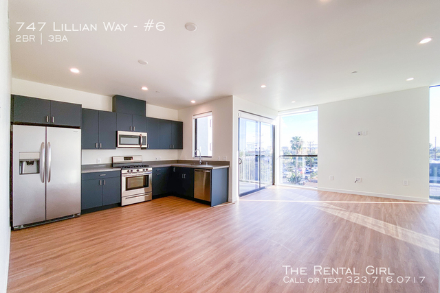 2 Bedrooms, Central Hollywood Rental in Los Angeles, CA for $3,765 - Photo 1