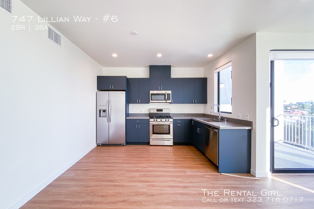 2 Bedrooms, Central Hollywood Rental in Los Angeles, CA for $3,765 - Photo 2