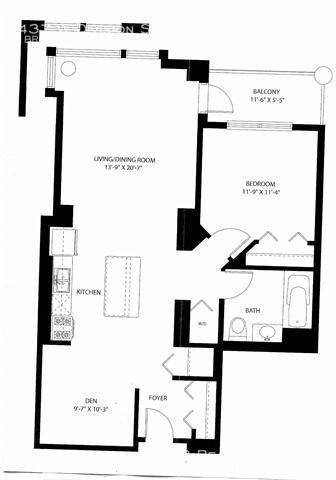 1 Bedroom, Cabrini-Green Rental in Chicago, IL for $2,450 - Photo 2