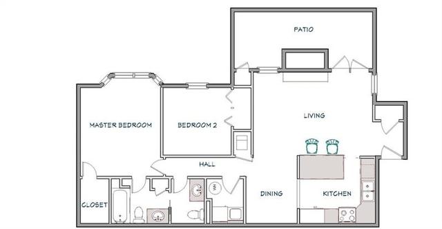 2 Bedrooms, Old Fourth Ward Rental in Atlanta, GA for $1,700 - Photo 2