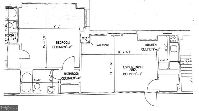 1 Bedroom, Washington Square West Rental in Philadelphia, PA for $1,650 - Photo 2