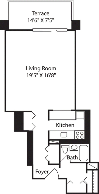 Studio, West End Rental in Boston, MA for $2,485 - Photo 2