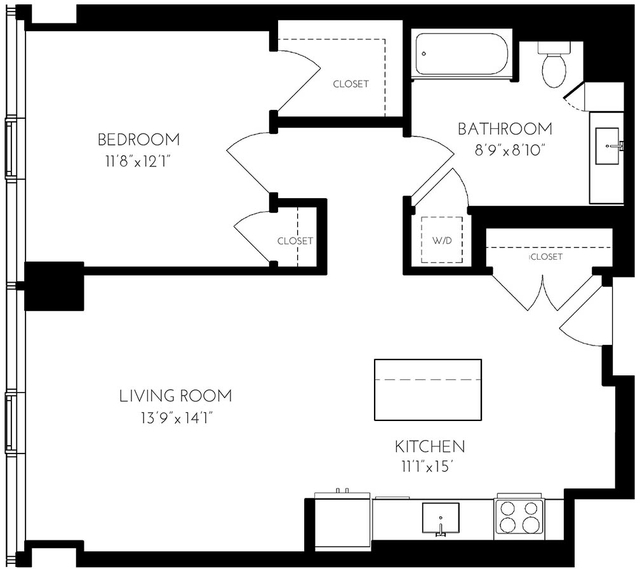 2 Bedrooms, Seaport District Rental in Boston, MA for $6,442 - Photo 1