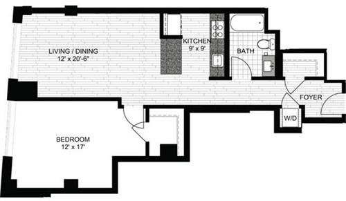 1 Bedroom, Downtown Boston Rental in Boston, MA for $3,065 - Photo 1
