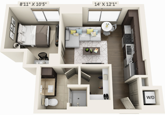 1 Bedroom, Seaport District Rental in Boston, MA for $3,055 - Photo 1