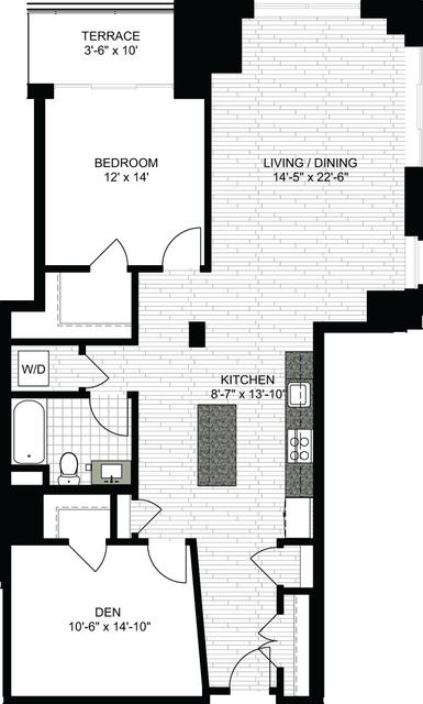 1 Bedroom, Downtown Boston Rental in Boston, MA for $4,085 - Photo 1