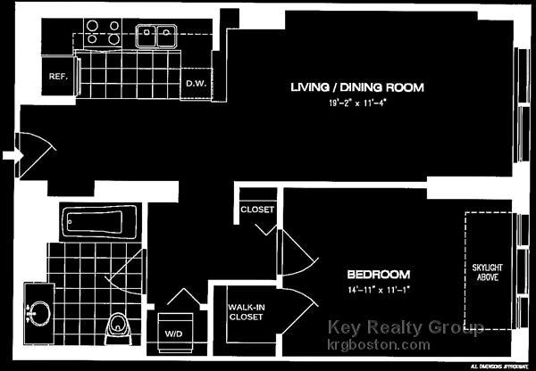 1 Bedroom, Downtown Boston Rental in Boston, MA for $3,486 - Photo 2
