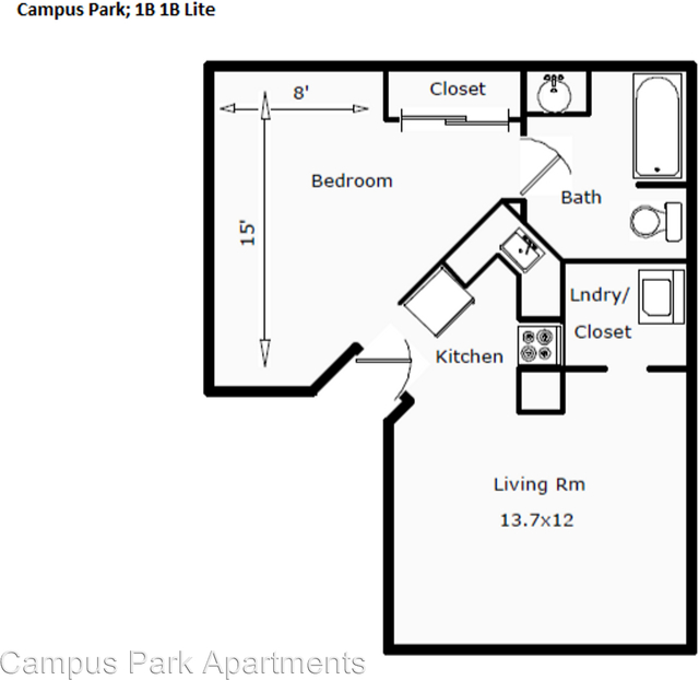1 Bedroom, University North Rental in Fort Collins, CO for $995 - Photo 2