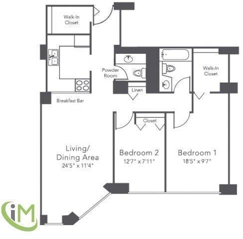 1 Bedroom, Gold Coast Rental in Chicago, IL for $2,760 - Photo 2