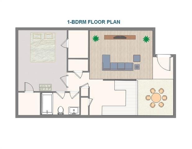 1 Bedroom, Ridgeway Rental in Dallas for $925 - Photo 2