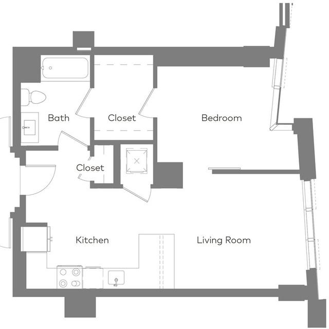1 Bedroom, West Fens Rental in Boston, MA for $4,402 - Photo 1