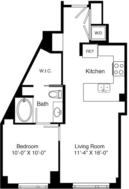 1 Bedroom, Seaport District Rental in Boston, MA for $3,345 - Photo 2
