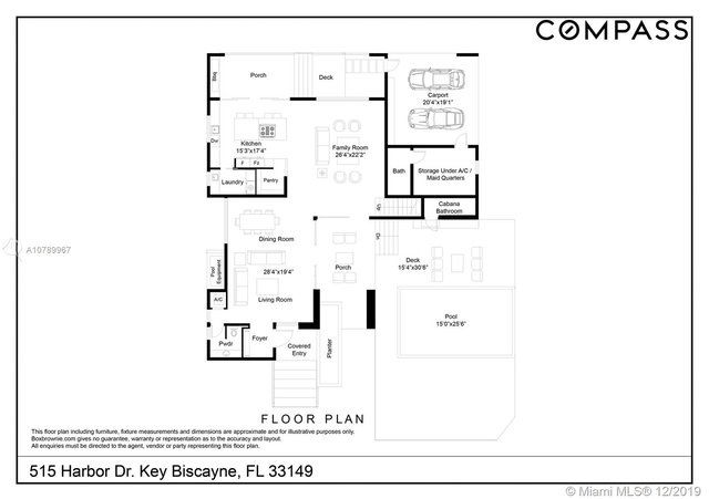 4 Bedrooms, Tropical Isle Homes Rental in Miami, FL for $15,500 - Photo 2