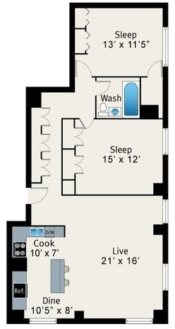 2 Bedrooms, Lake View East Rental in Chicago, IL for $2,740 - Photo 2
