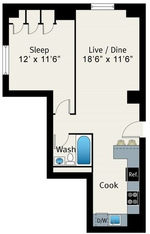 1 Bedroom, Lake View East Rental in Chicago, IL for $1,910 - Photo 2