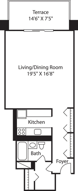 Studio, West End Rental in Boston, MA for $2,555 - Photo 2
