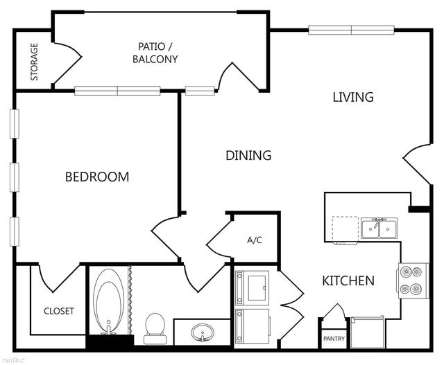 1 Bedroom, Ennis Rental in Dallas for $1,010 - Photo 1