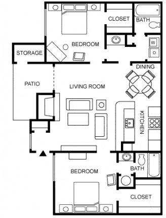 2 Bedrooms, Larimer Rental in Fort Collins, CO for $1,365 - Photo 1