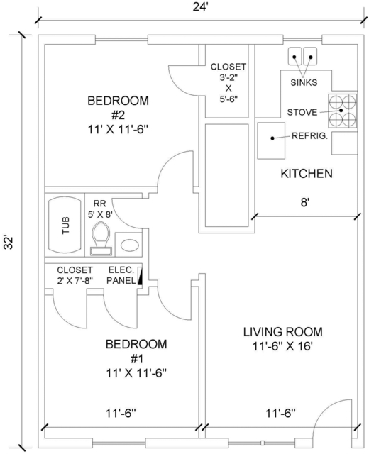 2 Bedrooms At 4929 Reiger Avenue Posted By Carolina Apts