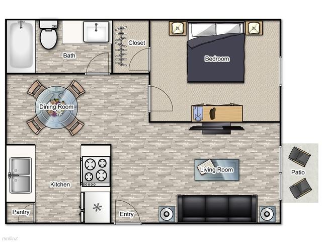 1 Bedroom, Downtown Sandy Springs Rental in Atlanta, GA for $1,050 - Photo 1