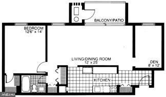 1 Bedroom, Merrifield Rental in Washington, DC for $1,670 - Photo 1