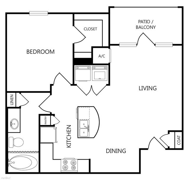 1 Bedroom, Mountain Creek Rental in Dallas for $1,275 - Photo 1