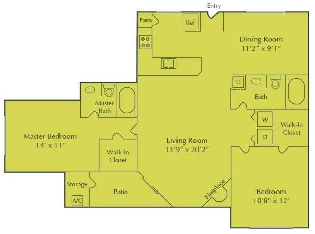 2 Bedrooms, Randall Mill Rental in Atlanta, GA for $1,210 - Photo 1