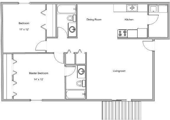1 Bedroom, Greene Rental in Springfield, MO for $560 - Photo 1