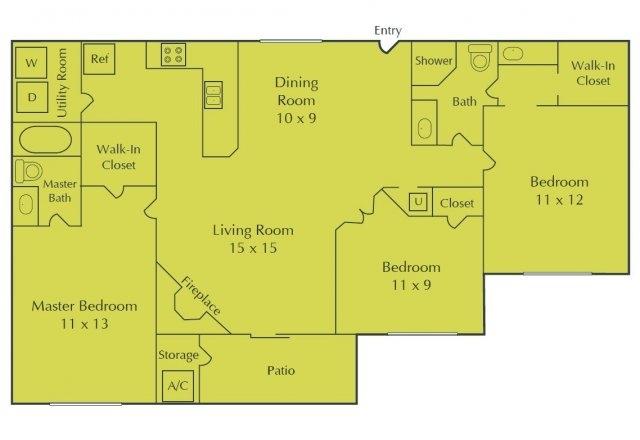 3 Bedrooms, Randall Mill Rental in Atlanta, GA for $1,750 - Photo 1