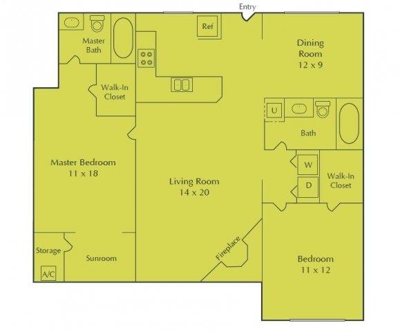 1 Bedroom, Randall Mill Rental in Atlanta, GA for $960 - Photo 1