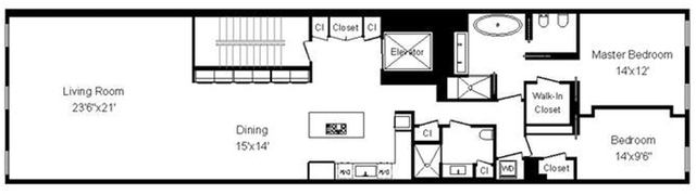2 Bedrooms, SoHo Rental in NYC for $15,500 - Photo 2