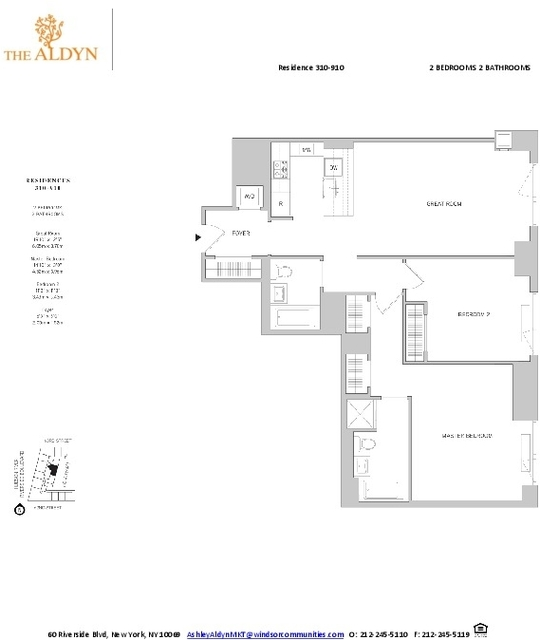2 Bedrooms, Lincoln Square Rental in NYC for $6,380 - Photo 2