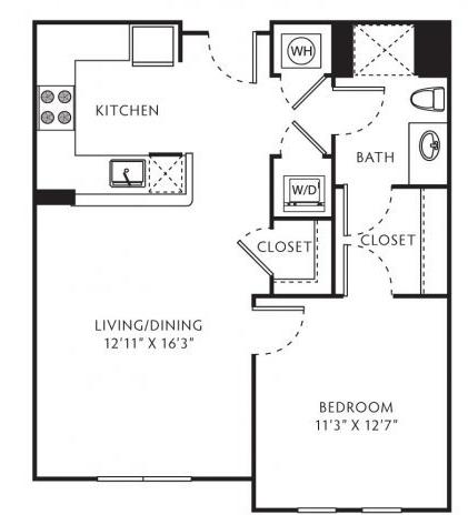 1 Bedroom, Central Rockville Rental in Washington, DC for $1,875 - Photo 1