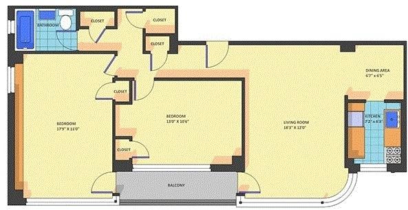 2 Bedrooms, Kalorama Rental in Washington, DC for $2,775 - Photo 1