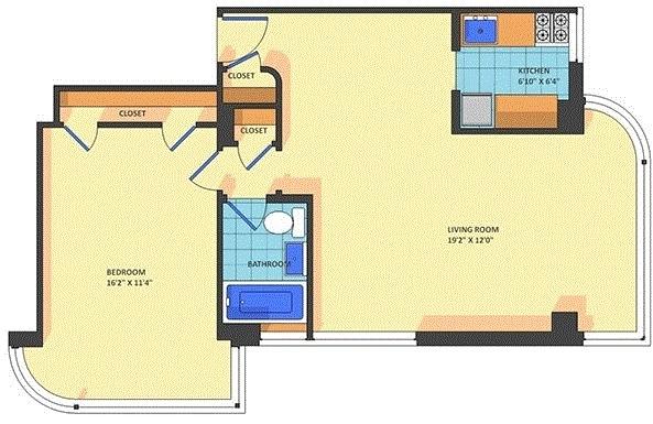 1 Bedroom, Kalorama Rental in Washington, DC for $1,650 - Photo 1