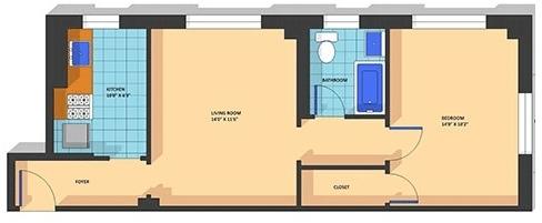 1 Bedroom, Adams Morgan Rental in Washington, DC for $1,698 - Photo 1