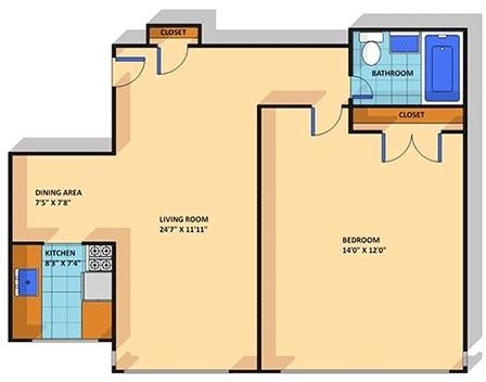 1 Bedroom, Adams Morgan Rental in Washington, DC for $1,759 - Photo 1