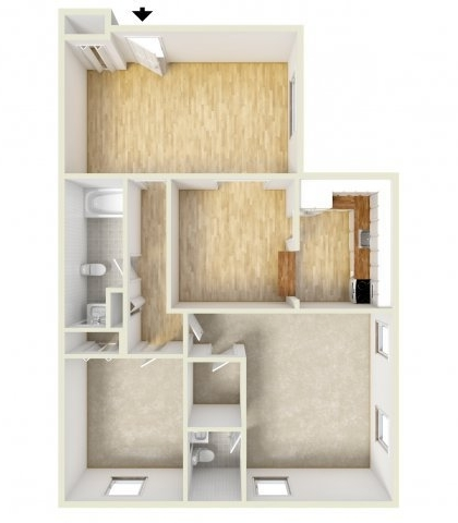 2 Bedrooms, Naamans Apartments Rental in Philadelphia, PA for $985 - Photo 1