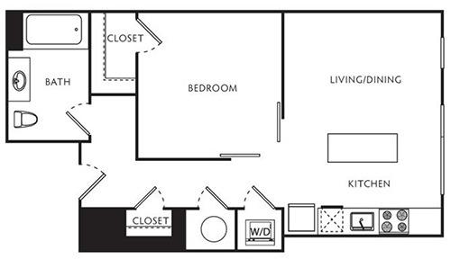1 Bedroom, U Street - Cardozo Rental in Washington, DC for $2,496 - Photo 1