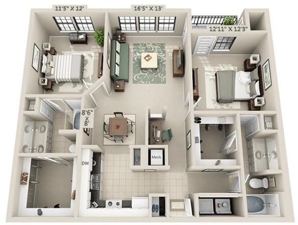 2 Bedrooms, Genesis Park Rental in Houston for $2,047 - Photo 1