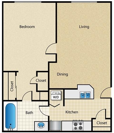 1 Bedroom, Vinings Rental in Atlanta, GA for $875 - Photo 1
