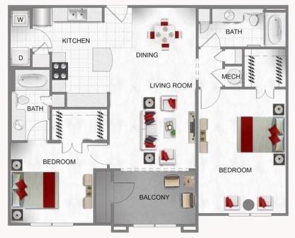 2 Bedrooms, Energy Corridor Rental in Houston for $1,545 - Photo 1