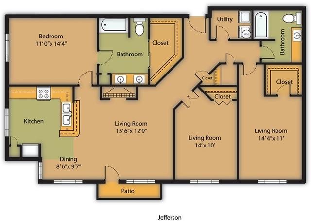 3 Bedrooms, Midtown Rental in Houston for $2,440 - Photo 1
