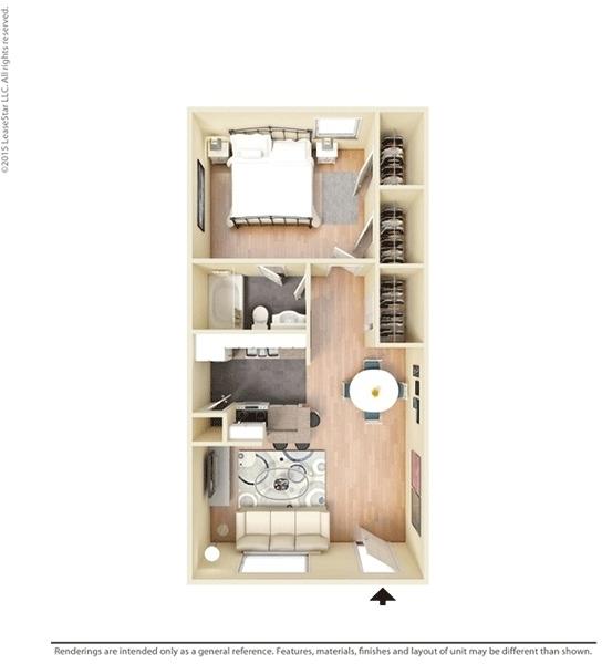 1 Bedroom, Lake Madeline Rental in Houston for $725 - Photo 1