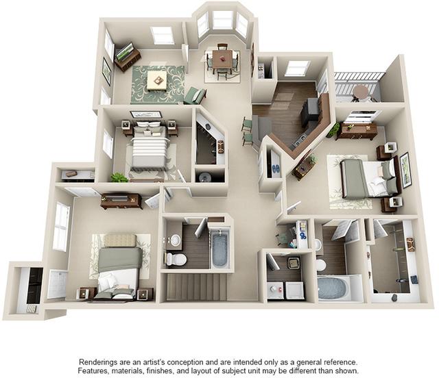 3 Bedrooms, Kingwood Rental in Houston for $1,610 - Photo 1